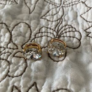 Kate Spade / 12mm gold studs earrings